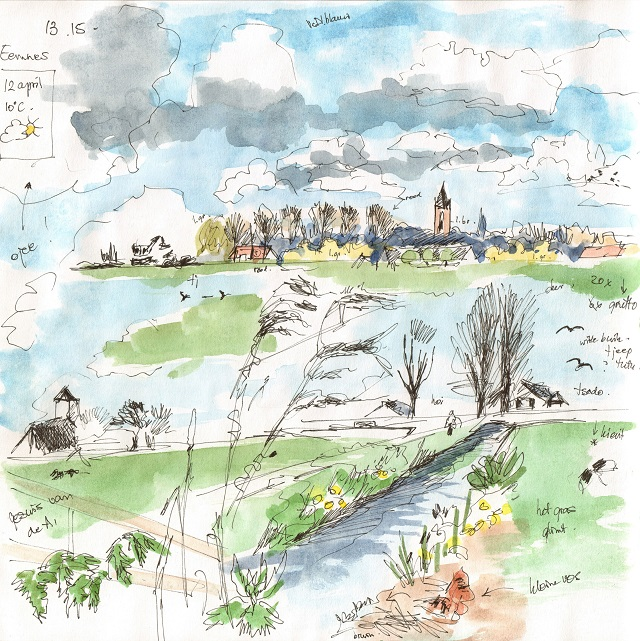 polder eemnes 12 april 2016