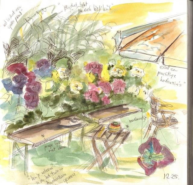 hortensia's theetuin eemnes 19 juli 2016