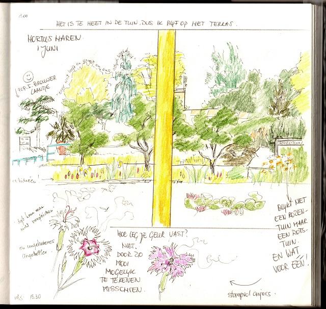 rotstuin hortus Haren 1 juni 2017