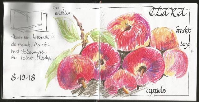 Spiksplinternieuw Schetsdagboek - Trudy Beekman OO-22